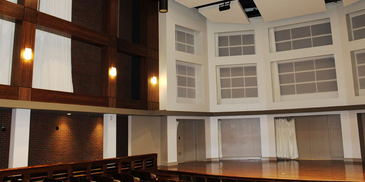 Alabama Center for the Arts, theater design